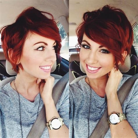 spring 2015 short hairstyles growing out pixie cut shaved sides