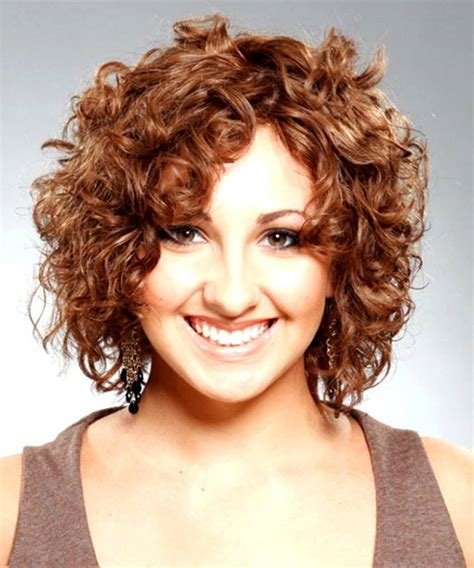 cute haircuts for fuller faces short hairstyles for fat faces and curly hair best