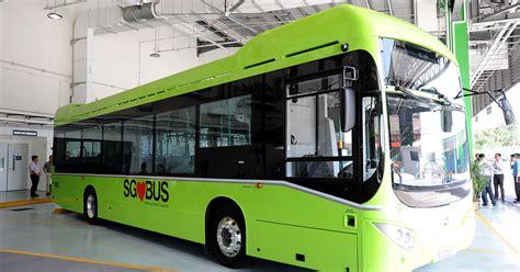 diesel hybrid bus  hit spore roads   years  trials mothershipsg