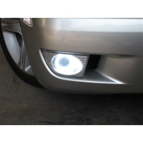 flash tech usa lexus is300 white led halo fog light kit 2001 2005
