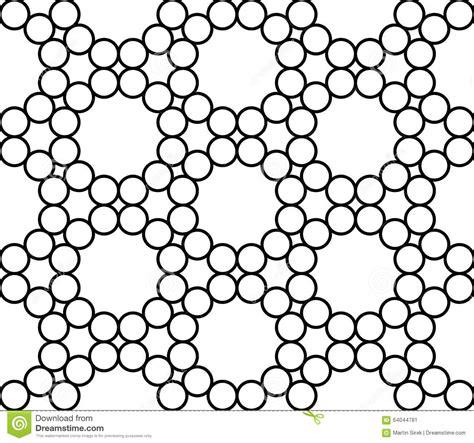geometric background circles seamless pattern vector stock vector modern seamless sacred geometry pattern circles