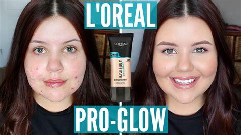 Glow Acne With Tto l oreal pro glow acne prone skin impressions