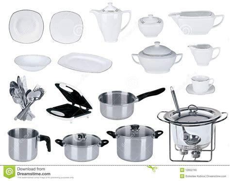 new kitchen set isolated royalty free stock photo image