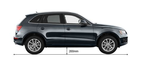 Audi Clearance by Audi Q5 2012 2018 Ground Clearance Mm Autoportal