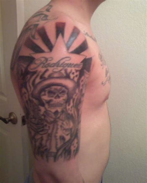 arizona flag tattoo mexican skull arizona flag