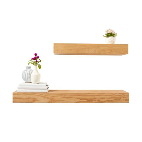 ash floating shelves the container store