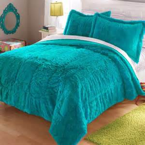 your zone long fur bedding comforter set walmart com