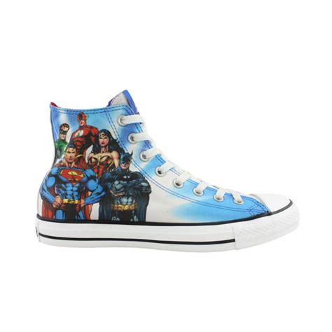 justice shoes converse all hi justice league athletic shoe multi