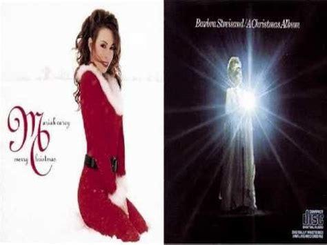 barbra streisand range mariah carey vs barbra streisand part 1 christmas album