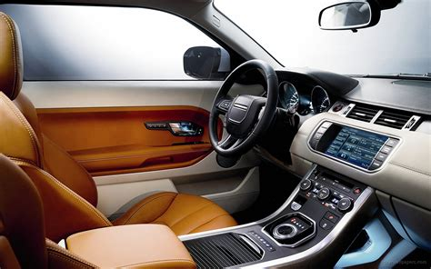 evoque land rover interior 2011 range rover evoque interior wallpaper hd car