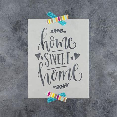 home stencil live laugh love stencil for crafts walls stencil