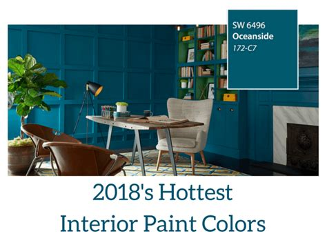 2018 interior paint colors