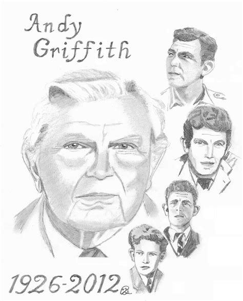 andy griffith coloring pages how to draw gail