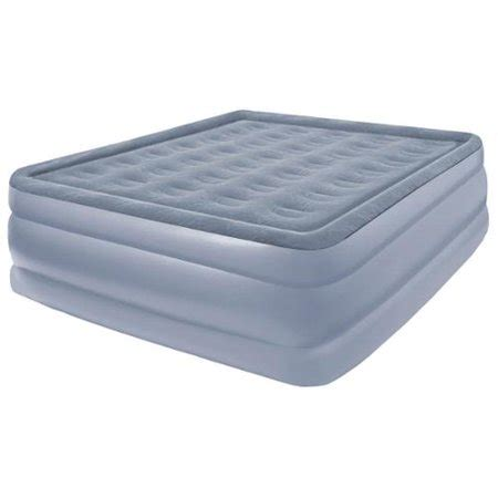 comfort raised size air bed walmart