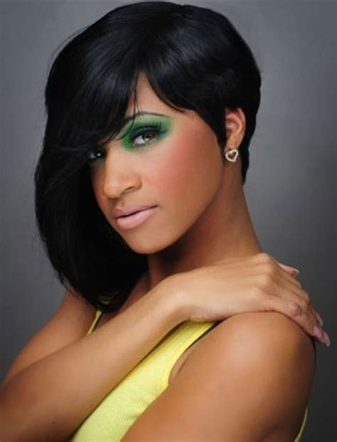 african american short on one side and long on the other hairstyles african american short hairstyles best 23 haircuts black