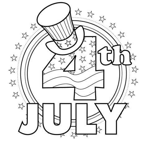 independence day coloring book pages you can print and