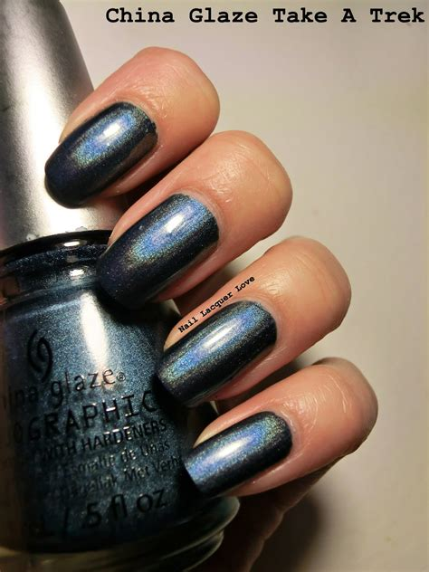 China Glaze Take A Trek nail lacquer china glaze take a trek