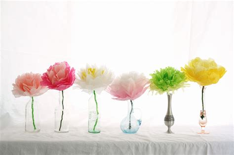 Easy To Make Tissue Paper Flowers - gift packaging tissue paper flowers