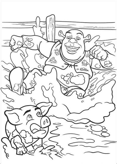coloring book for coloring books ages 2 4 4 8 9 12 books shrek 4 coloring pages coloringpages1001