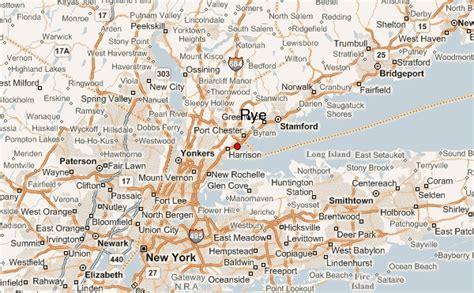 image gallery map rye