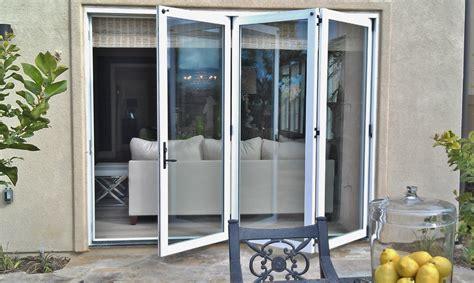 Bi Fold Exterior Patio Doors Bifold Exterior Doors Davidson Homes Exterior Bifold Doors Valley Ca By Win Dor Doors