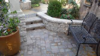 Paver Patio With Retaining Wall Portfolio Riemer And Landscaping And Irrigation Oklahoma City Metro Landscaping And