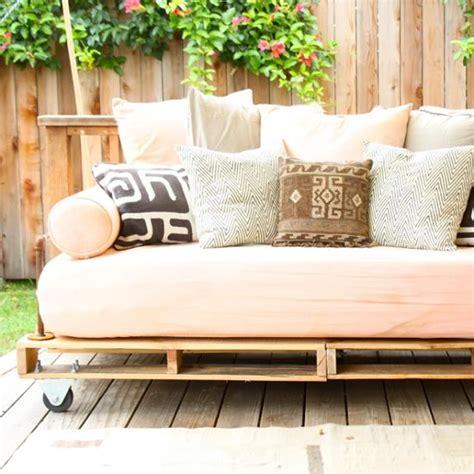 diy pallet daybed shed renovation ideas popsugar home
