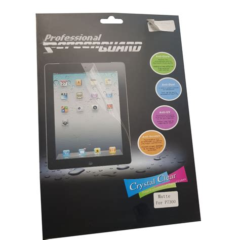 Samsung Galaxy Tab 8 9 P7300 professional lcd screen protector for samsung galaxy tab 8