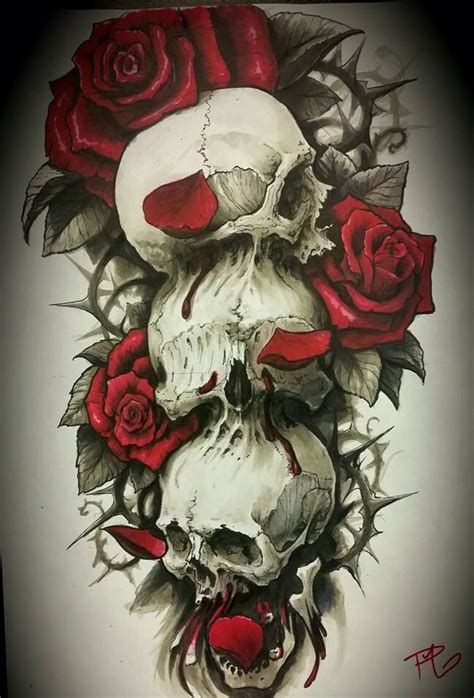 red and white rose tattoo designs design hear no evil see no evil speak no evil