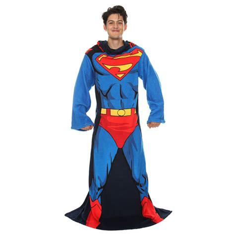 Batman Blanket With Sleeves by Superman Snuggie Fleece Blanket With Sleeves