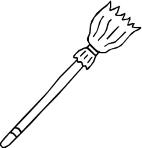 broom tree coloring page free witches broom clipart public domain halloween clip
