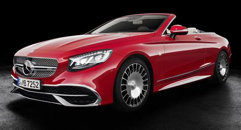 Mercedes Maybach S650 Cabriolet Is Firm's Most Luxurious