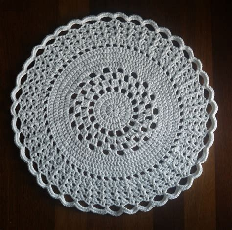doily rug pattern circular lace pattern crochet doily rug felt