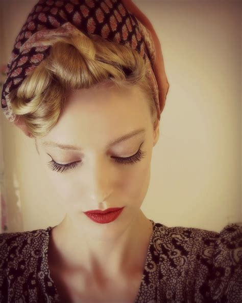 1940s bandana hairstyles 17 best images about pics rockabilly theme on pinterest