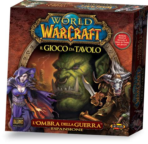 world of warcraft gioco da tavolo world of warcraft il gioco da tavolo l ombra della