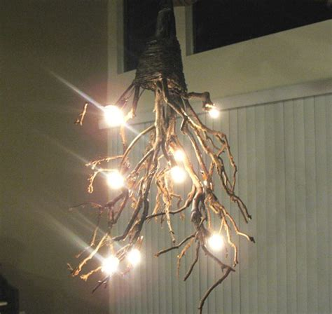 How To Make A Rustic Chandelier crafty craft hack diy rustic chandelier