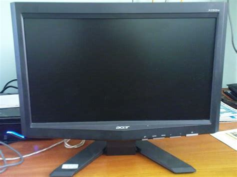 Monitor Acer X153w for sale acer x153w 15 quot lcd monitor wide