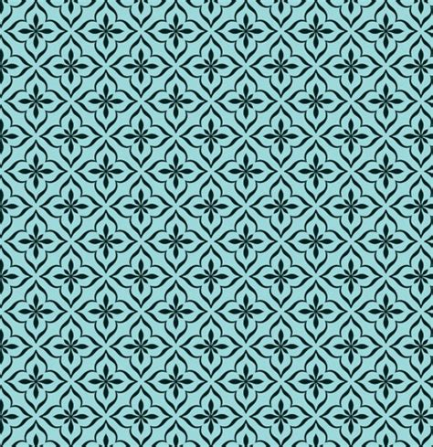 free tile pattern background ornamental seamless moroccan pattern background vector