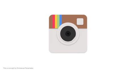 material design instagram icon เม อ instagram ปร บหน าตาเป น material design