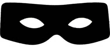 burglar mask jpg 600 215 263 printable 2 pinterest