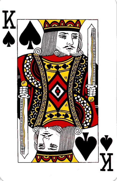design is king courts on playing cards