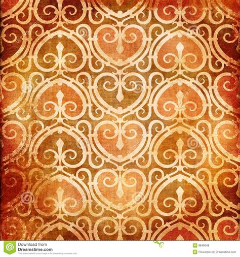 vintage heart pattern vintage heart pattern royalty free stock photos image
