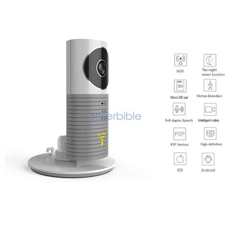 Cctv Clever clever cleverdog home security ip wifi monitor smart phones tablets 163 24 71