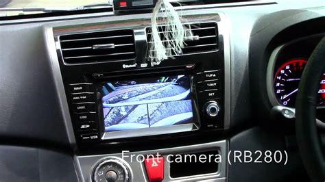 perodua myvi   rear camera interface