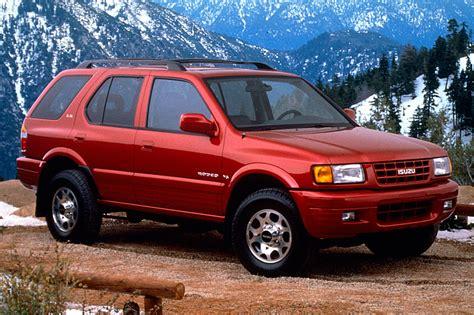 how cars engines work 1998 isuzu rodeo parking system 1998 04 isuzu rodeo consumer guide auto