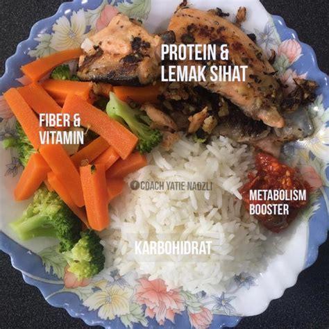 tip makan nasi secara eat clean kata coach