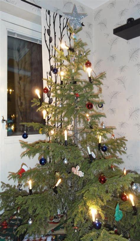 scandinavian christmas tree decorations ideas