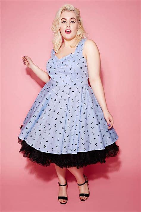 Robe Retro Femme Ronde - robe vintage grande taille laissez vous tenter par le