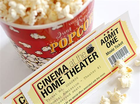 printable movie night tickets 8 at home date night ideas for the dead of winter