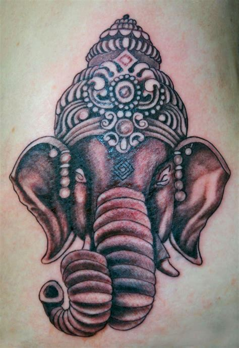 indian elephant tattoo matt flanagan gallery las olas company and